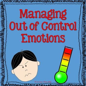 managing emotions anger  acronym mom teachers pay