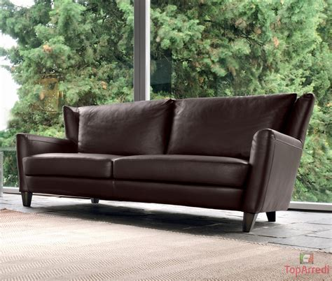 posti in divano in pelle 3 posti