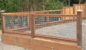 Deck Railing Hog Wire Fence