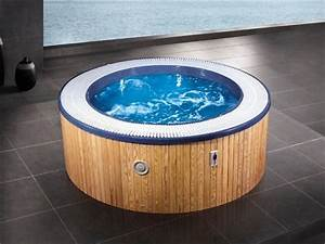 Mini Whirlpool Balkon : round mini whirlpool by beauty luxury ~ Watch28wear.com Haus und Dekorationen