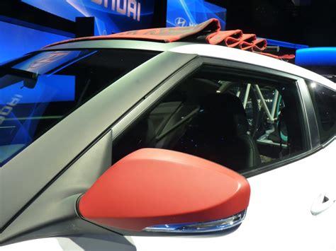 Hyundai Veloster C3 Roll Top Concept La Auto Show Live Photos