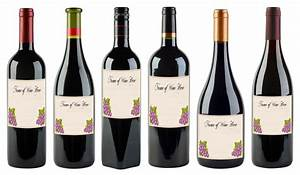 wine bottle labels template bamboodownundercom With how to print wine bottle labels