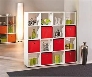 Raumteiler Regal Mit Rückwand : regal caboto 16 offener raumteiler dekor wei ~ Bigdaddyawards.com Haus und Dekorationen