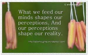 Shapes Perception Reality Quotes