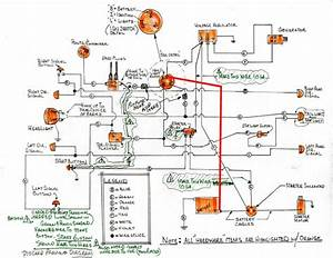 Hand Drawn Wiring Diagram For Xlch
