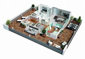 Appartements neufs pouvourville ref 12 se integral for Plan d appartement 3d 3 une maison 224 toulouse