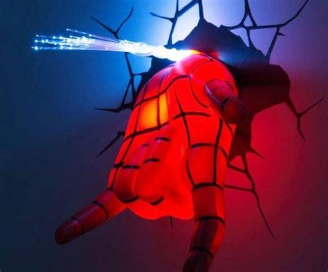20 best 3d wall art night light spiderman hand wall art