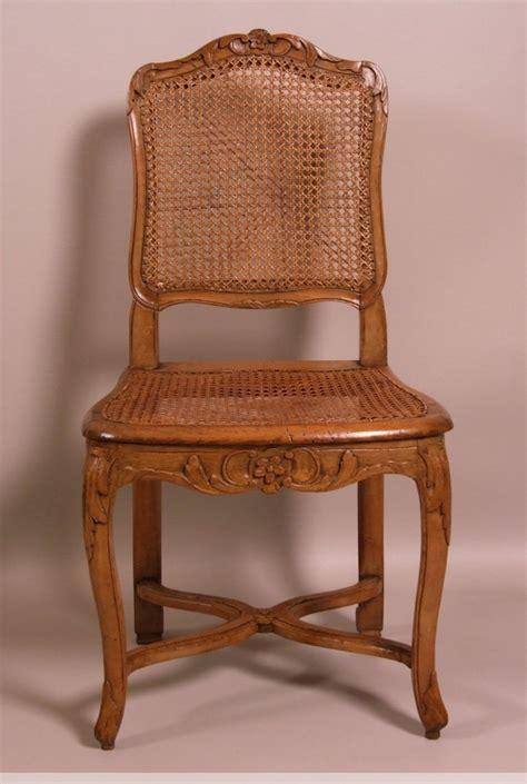 chaises louis philippe cannées suite de 7 chaises cannées d 39 époque louis xv estillées
