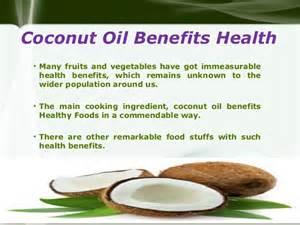 Benefits Of Coconut Oil Photos