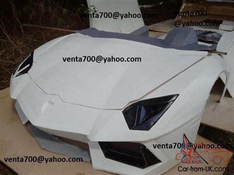 lamborghini aventador body kit kit car exotic fiero