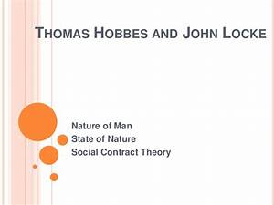 Nature Of Man  State Of Nature And Social Contract