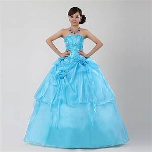 sky blue theme wedding formal dress multicolour costumejpg With sky blue wedding dress