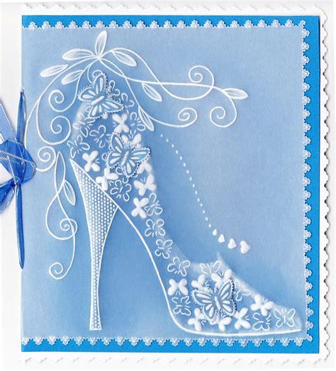 butterfly shoe parchment paper craft parchment design