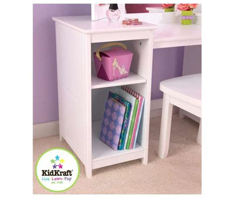 Kidkraft Deluxe Vanity And Chair Set by Kidkraft Deluxe Vanity Chair Set White 13018
