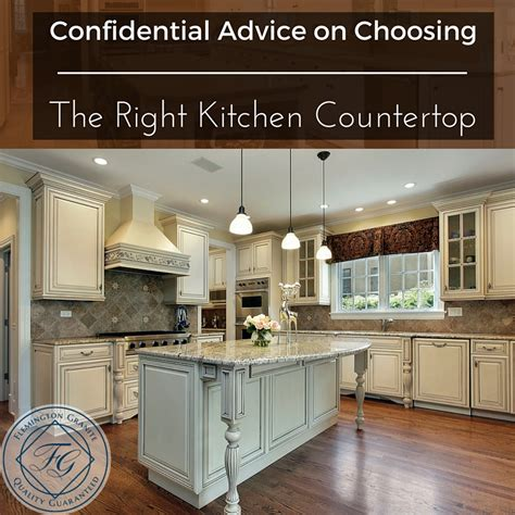 choosing the right kitchen countertops hgtv confidential advice on choosing the right kitchen