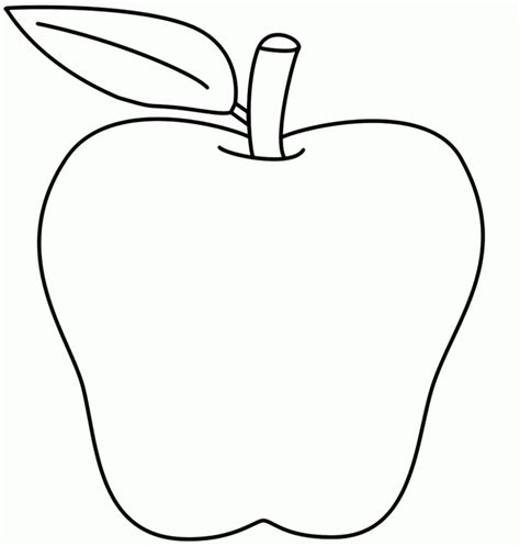 printable apple coloring pages  kids printables