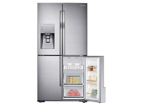 23 cu ft counter depth 4 door flex refrigerator with