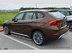 LiveBilder aus Spartanburg BMW X1 Facelift 2012 mit