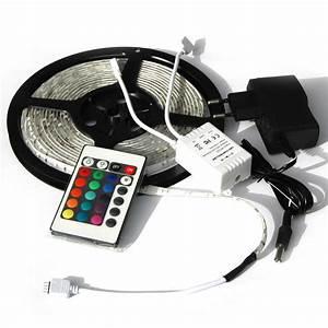 Led Batterie Lichterkette : led streifen strip lichtleiste beleuchtung rgb farbwechsel bunt 5 m ebay ~ Eleganceandgraceweddings.com Haus und Dekorationen