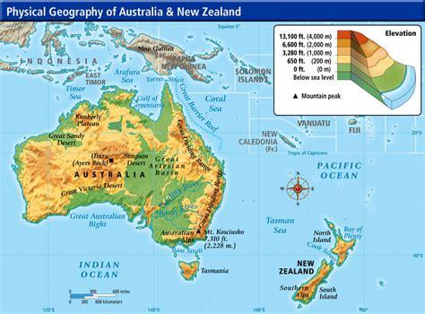 Australia Environmental Geography