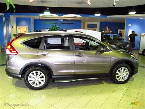 2012 Urban Titanium Metallic Honda Cr-v Ex-l #66820119