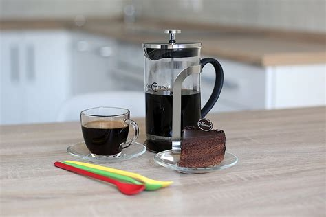 Shoppers love that it keeps their coffee hot for longer and is durable for traveling and camping. Amazon.com: Cuisine Trend French Coffee Press & Tea Maker | 34 Oz 8 Cups - FDA Certified, Strong ...