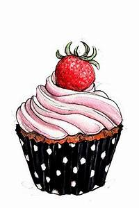 Cupcake, Observational drawing and Drawings of on Pinterest