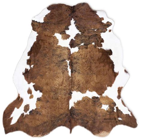 Cowhide Blanket by Sleeping Partners Cowhide Print And Sherpa