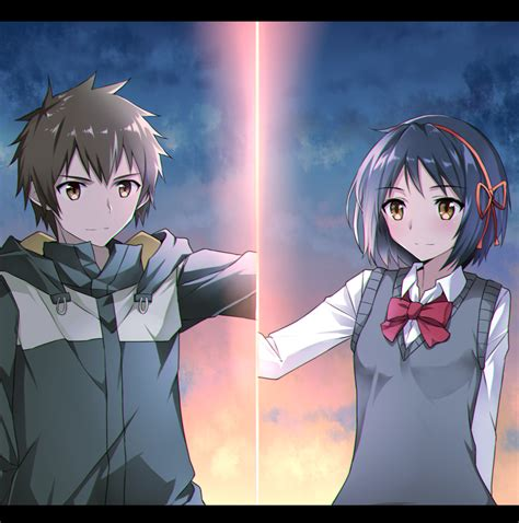 Anime Your Name Kimi No Na Wa Link 2016 Random Thoughts Kimi No Na Wa Your Name Image 2036641 Zerochan