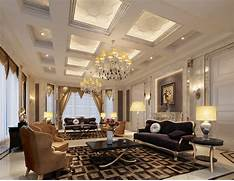 Luxurious Interior Design Super Luxury Villa Living Room Interior Design 3D 3D House Free 3D
