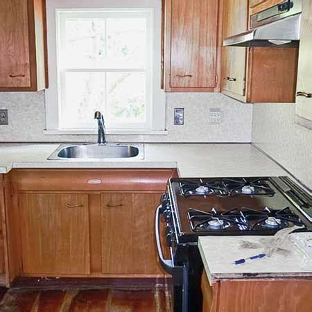 how to update a galley kitchen before and after a kitchen revision popsugar home 8936