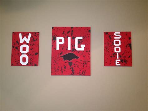 Arkansas Razorback Decor Completed Projects Pinterest Home Decorators Catalog Best Ideas of Home Decor and Design [homedecoratorscatalog.us]