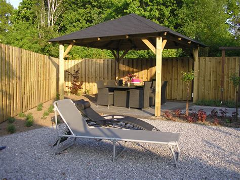 gazebo wooden tourist open timber gazebo 3 4x3 4m