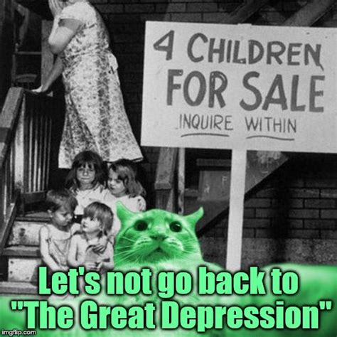 Memes About Depression - raycat s quot the great depression quot selfie imgflip