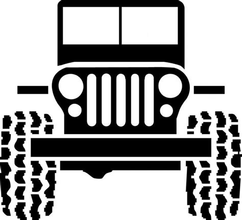 jeep front drawing black and white jeep cartoon jeep flatty stoney creek