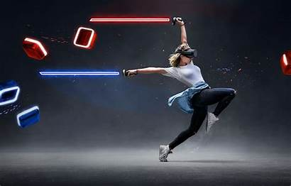 Saber Beat Vr Virtual Reality Dance Lightsaber