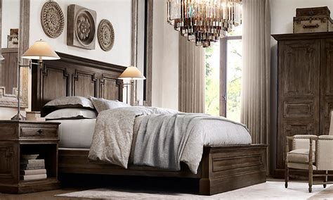 Restoration Hardware Bedroom-love The Bedding And