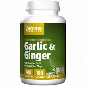 Buy Garlic  U0026 Ginger 700 Mg  100 Capsules