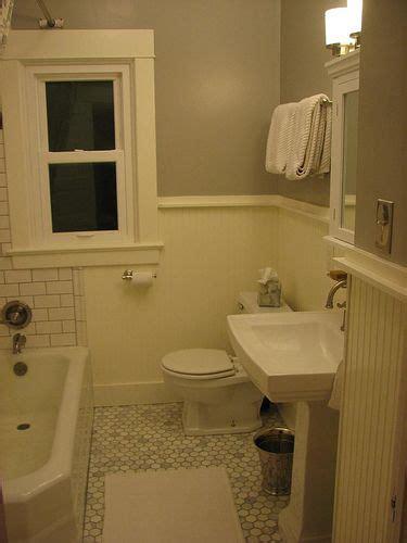 Beadboard Tile Bathroom  Bathroom Design Ideas