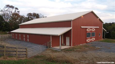 Metal Horse Barns, Hose Barn Kits, Steel Horse Barn Buildings