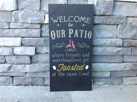 Large Welcome To Our Patio Firepit Custom Sign Bonfire Mobile Home Interior Design Uk Decor Trends That Are Out Pro 10 Bob Vila's Download Designs And Prices Qld Dream Plan Software Online 3d Gold Vshare On Ipad