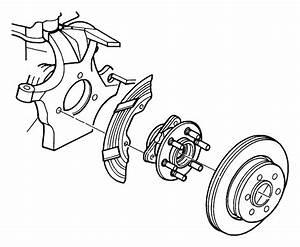 1998 Dodge Dakota Wheel Bearing And Hub Assembly  Front