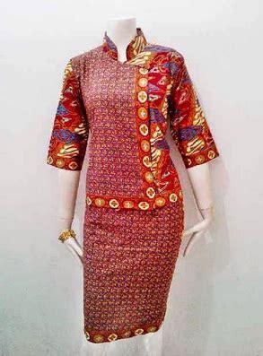 koleksi baju batik model china trend