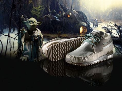 star wars  adidas zx boat yoda