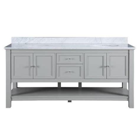 home decorators collection gazette 72 in vanity in grey