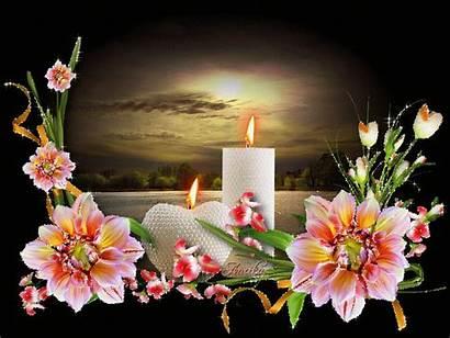 Flowers Animated Flower Night Gifs Dreams Sweet