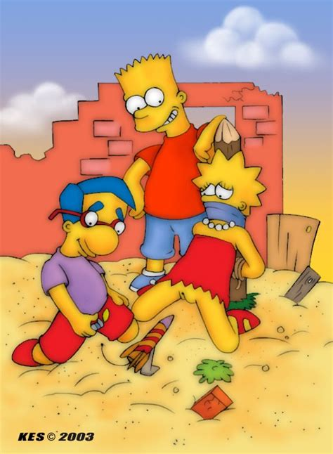 Simpsons nackt lisa und Bart And