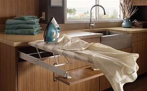 Pull Out Ironing Board Wood-Mode Fine Custom Cabinetry