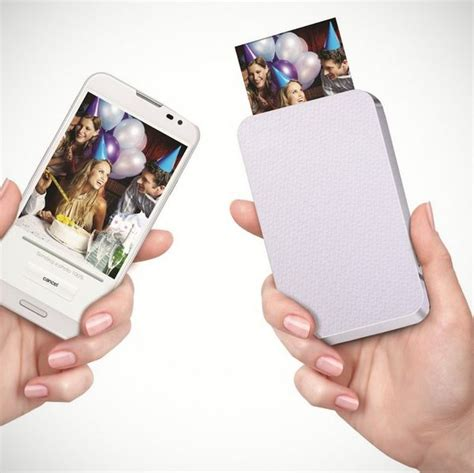 smartphone photo cube printer image gallery smartphone printer