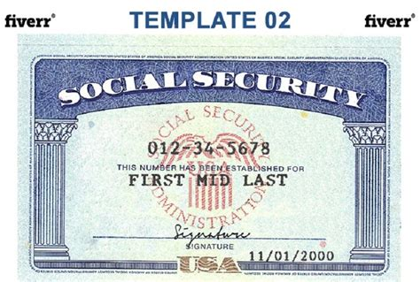 social security numbers wa state id cards uw tacoma